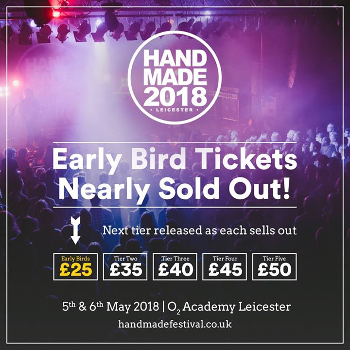 Early bird tickets are nearly gone! Get yours here before the price goes up: ...