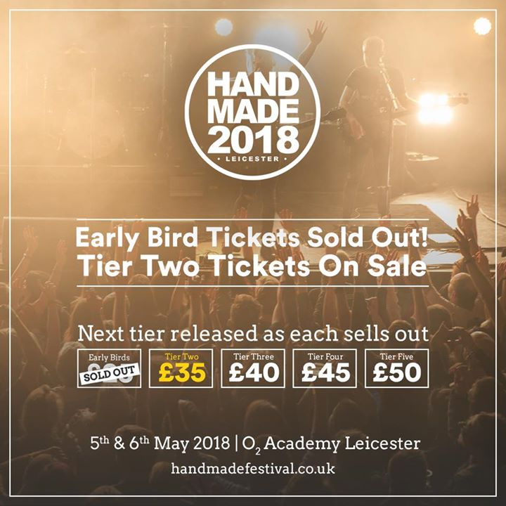 Well, that was quick. Tier 2 tickets now on sale! Our first wave of acts is comi...