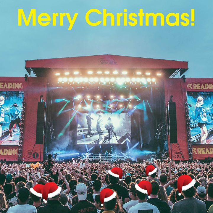 READING FESTIVAL NEWS: Merry Christmas! ️️️️️