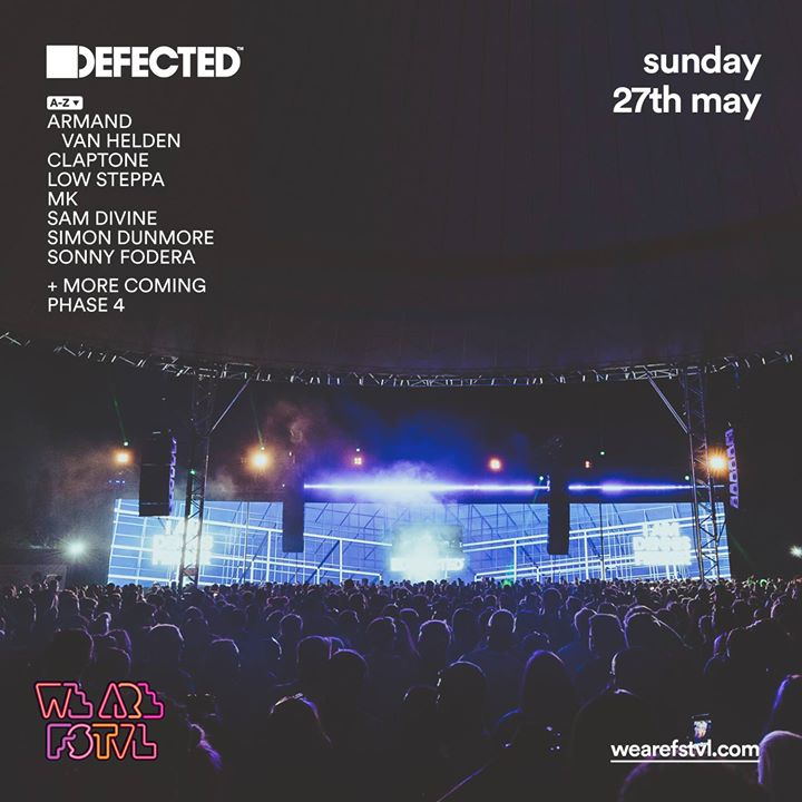 We are FSTVL news: Xmas comp  #1. LIKE + TAG a mate for a chance to win 2x VIP tickets to Defected …