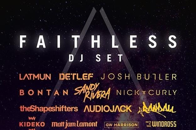 Top 5 Faithless Tracks