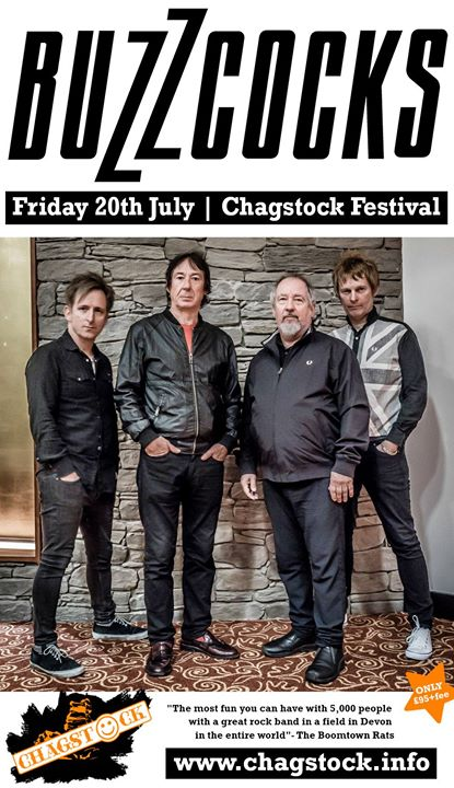 """The brilliant Buzzcocks will be headlining our rocking Friday night. """"The Best L..."""