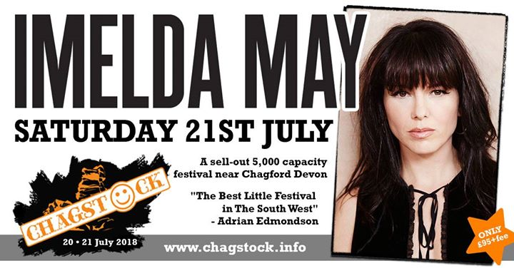 We are thrilled to announce our Saturday headliner - the amazing Imelda May!...