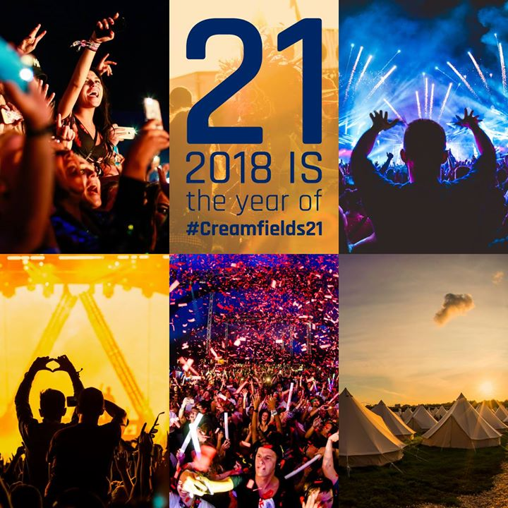 2018 is our 21st  and we're celebrating in true Creamfields style! Our biggest a...