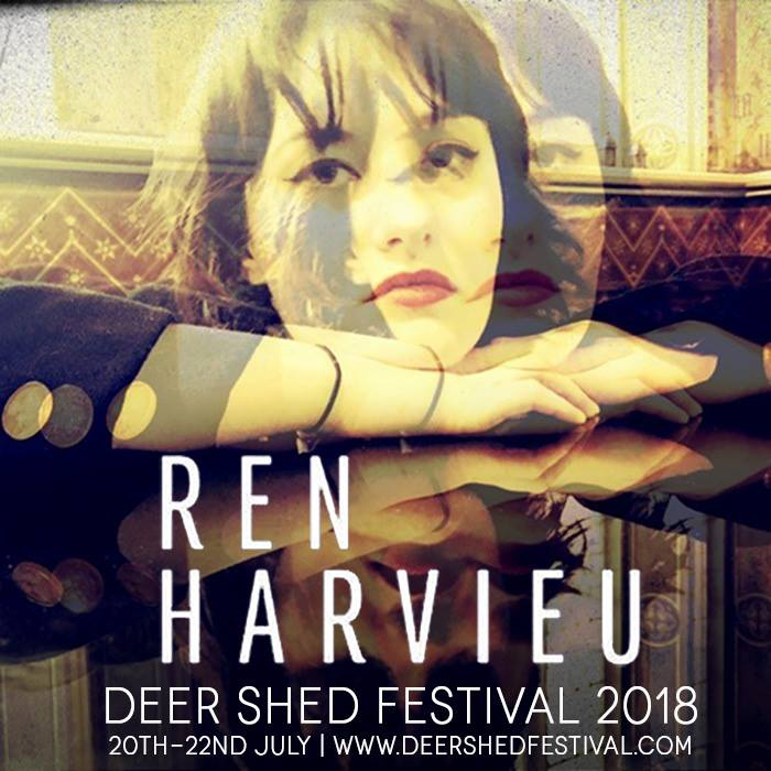 We couldn't be happier that Ren Harvieu will grace  #DeerShed9 with her phenomen...