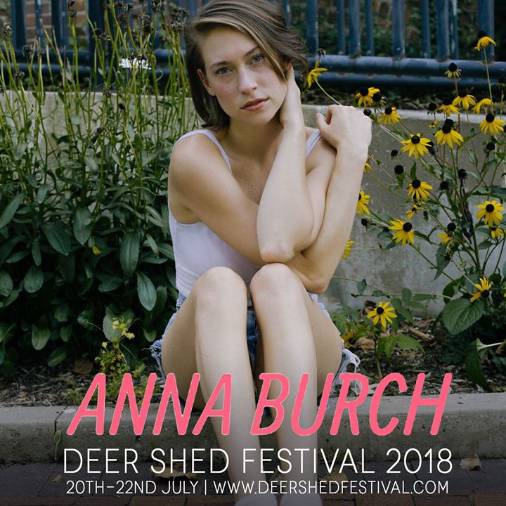 We're over the moon Detroit-based, indie singer songwriter and Anna Burch will s...