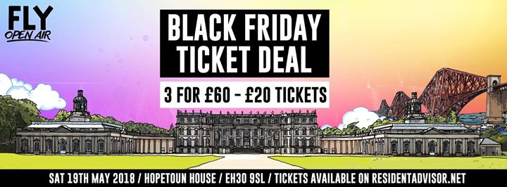 Bloody hell troops 1,000 black Friday tickets gone since 9am... Big up yourselve...