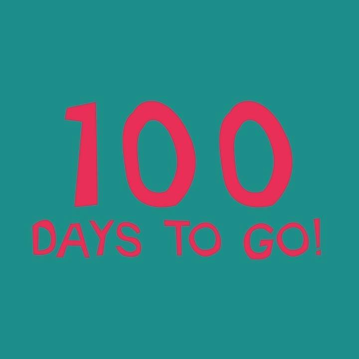 Guess what? It's just 100 days until we open the gates to Grinagog! Come festiva...