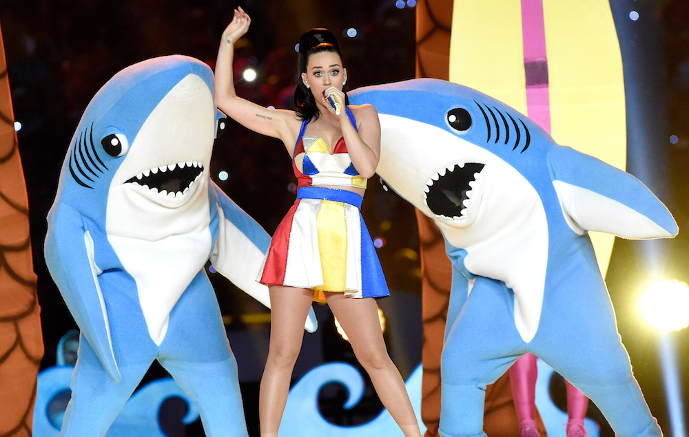 NME Festival blog: Katy Perry's Left Shark says his moves were meant to be 'freestyle'