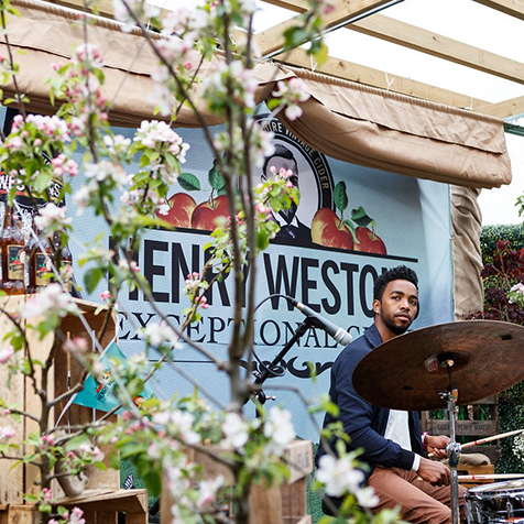 Throwback to our Henry Westons Sessions at last year's  #cheltjazzfest ...