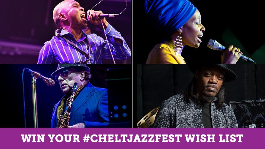 WIN up to £250 of #cheltjazzfest tickets - Cheltenham Festivals