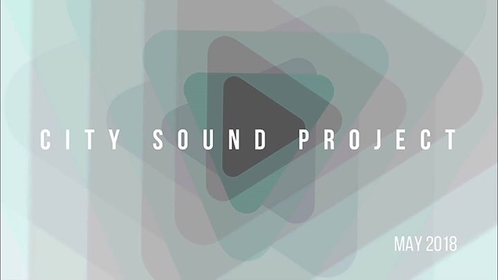 City Sound Project updated their cover photo.