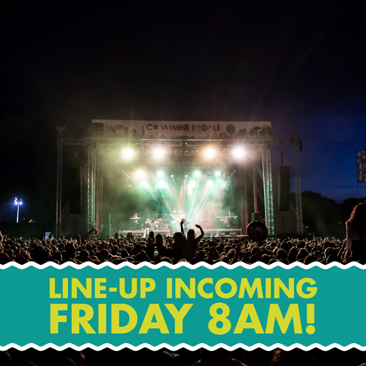 Line-up incoming! All will be revealed this Friday at 8am!