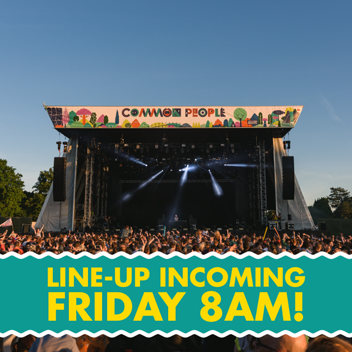 Our 2018 line-up will be revealed 8am on Friday!