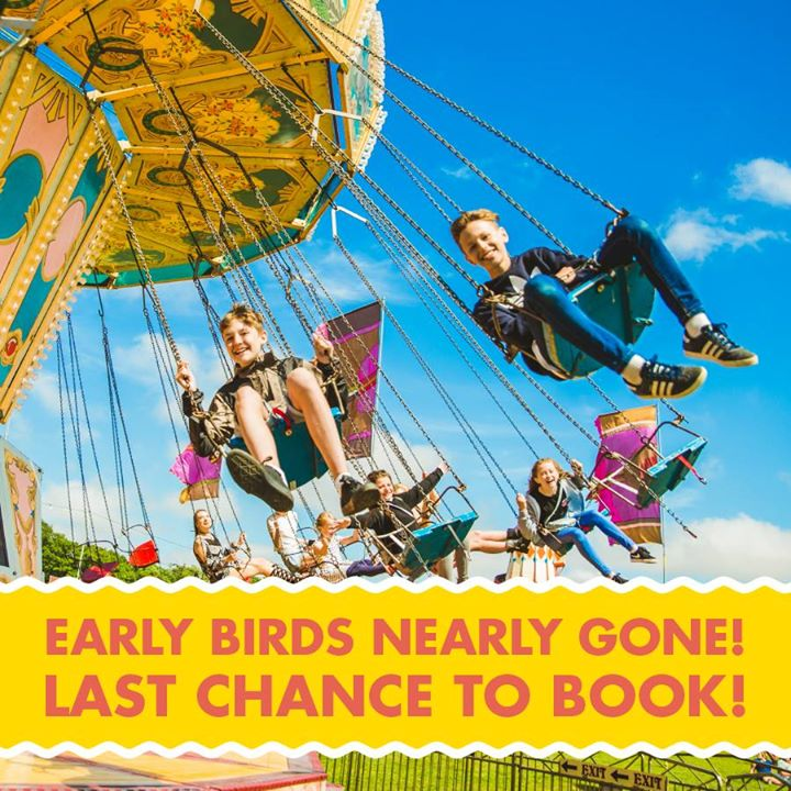 Today is your last chance to get early bird tickets, prices increase at 10pm ton...