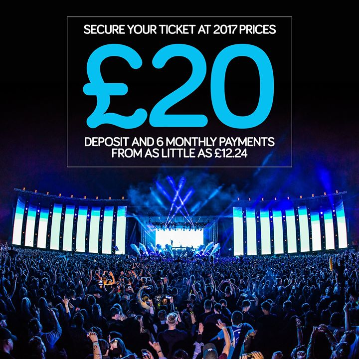 Next week we announce the  #Creamfields2018 line-up and 2017 ticket pricing ends...