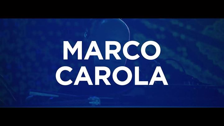 Saturday Night Steel Yard Headliner - Marco Carola