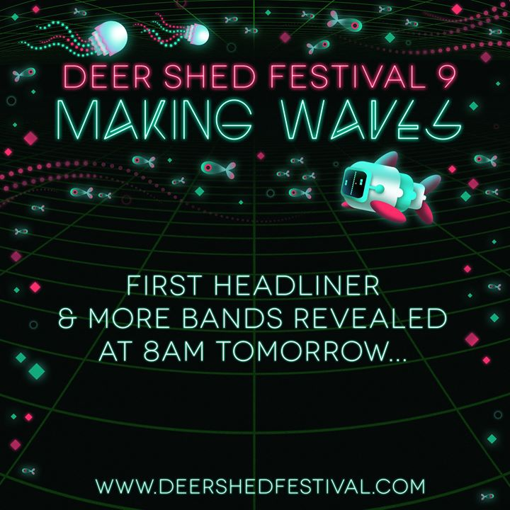 We don't want to alarm you, but...   #DeerShed9