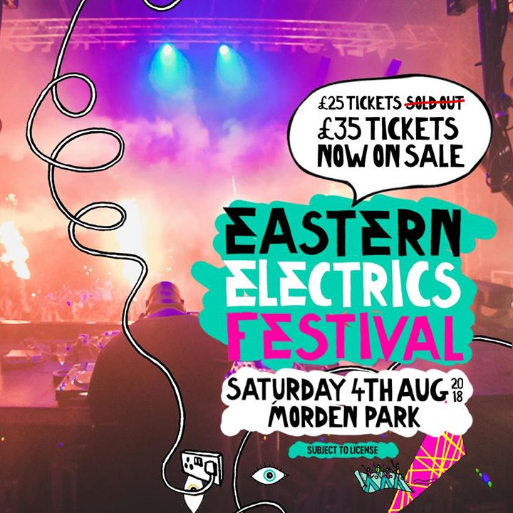 Eastern Electrics news : Big shout out to everyone who got in there early and purchased a £25 ticket to  …