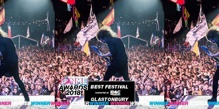 We just won Best Festival at the NME Awards! Big thanks to everyone who voted. ...