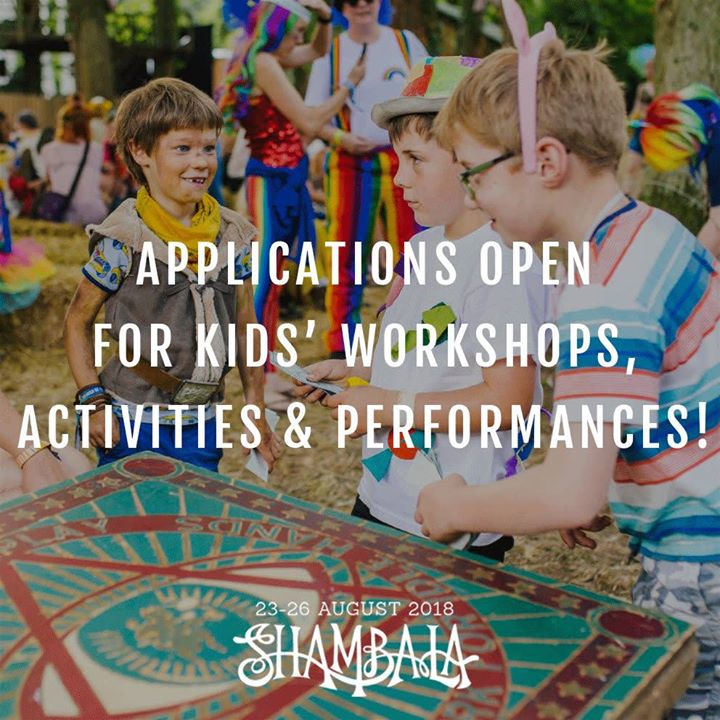 Shambala Festival news: Reckon you've got what it takes to keep our littlest Shambalans entertained? Pla…