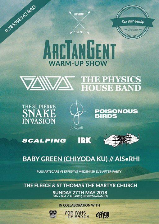 ArcTanGent news: ICYMI – Official ArcTanGent Warm-Up show announcement….