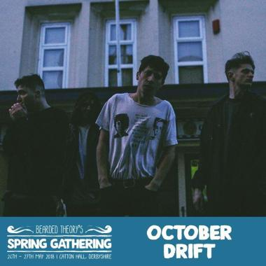 Bearded Theory news: Friday's Pallet Stage openers OCTOBER DRIFT have released a new track 'All Broke…