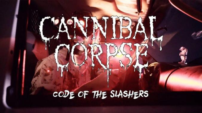 """Bloodstock news: Cannibal Corpse """"Code of the Slashers"""" (OFFICIAL VIDEO)"""