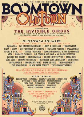 Boomtown Fair news: Oldtown line-up announcement!