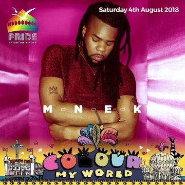 Brighton Pride news: MNEK confirmed for Pride Festival