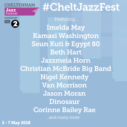 With our  #cheltjazzfest programme announced, become a member and purchase tick...