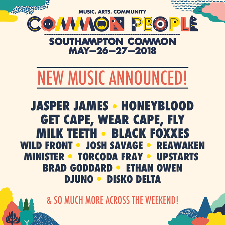 Revealing even more musical treats for your dancing feet at Common People includ...