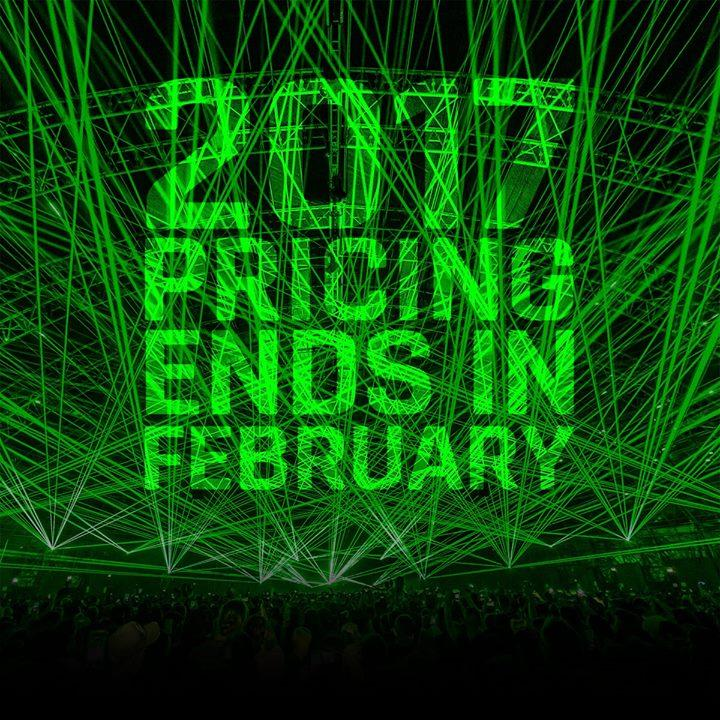 #Creamfields21 ticket prices go up in February… last chance to buy at Creamfiel...