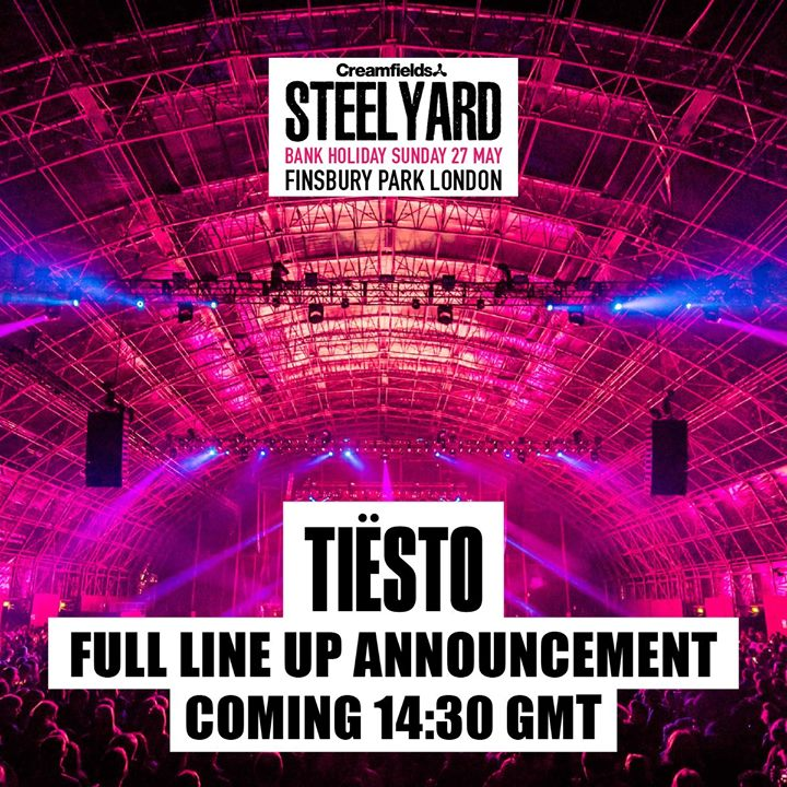 Incoming  #SteelYardLondon