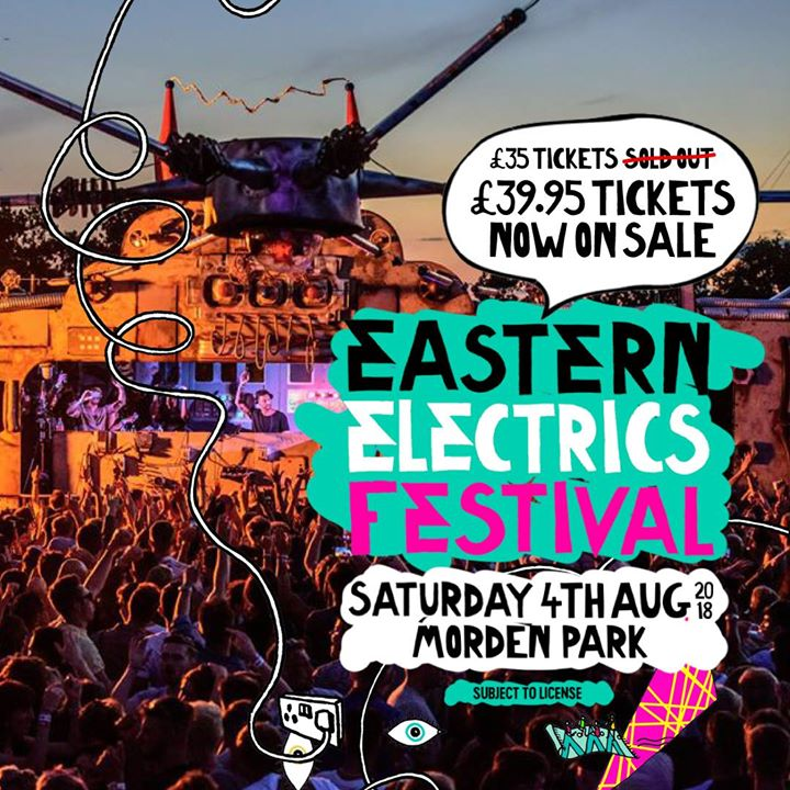 That was quick... £35 Saturday tickets now SOLD OUT! ...