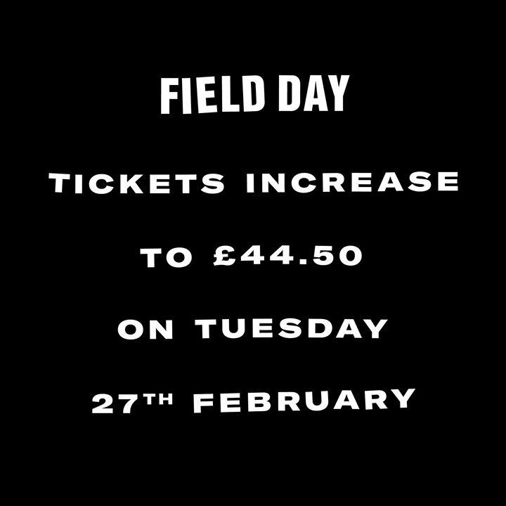 Ticket warning! ...