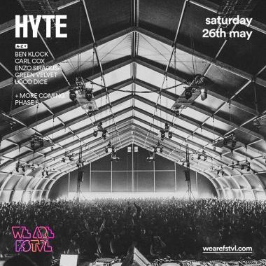 We are FSTVL news: We cannot wait to welcome HYTE to We Are FSTVL for the first time this year! Who…