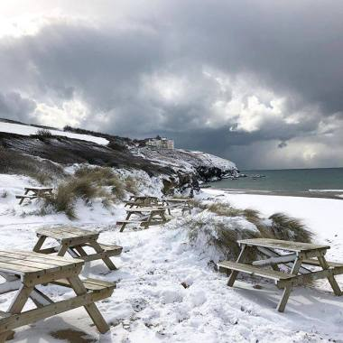 Boardmasters Festival news: Snow Causes Chaos Across Cornwall | Photos & Videos!
