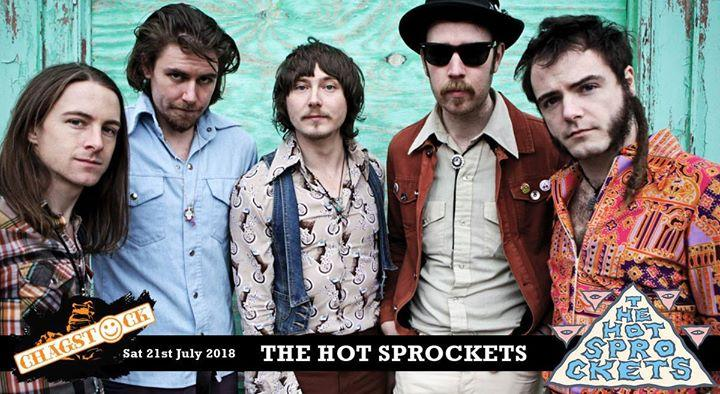 Hot Spockets play Chagstock Festival July 2018