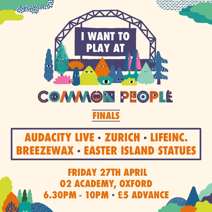 Announcing the I Want Play at Common People finalists who will battle it out at ...