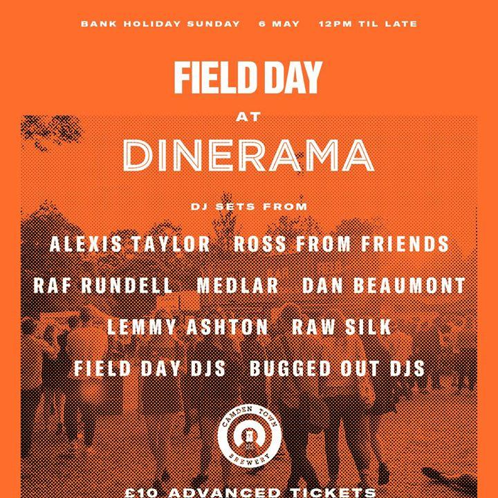 Field Day at Dinerama Shoreditch