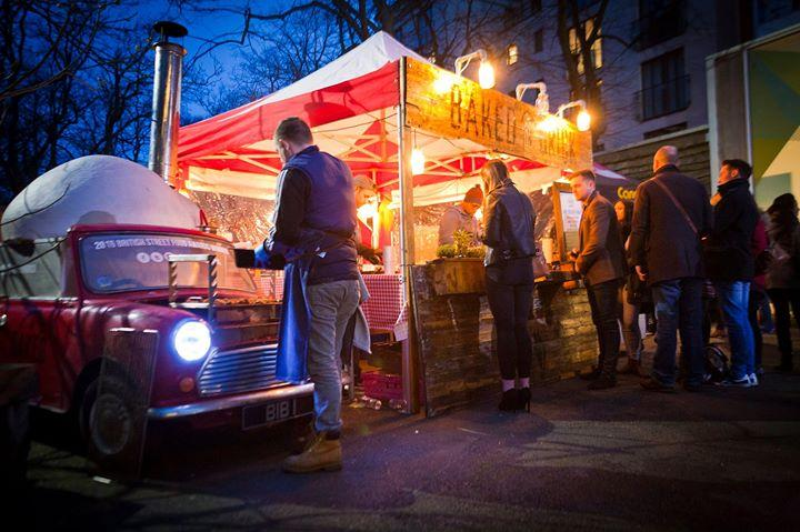 We've got some incredible food traders put together the guys at Canteen ready to...