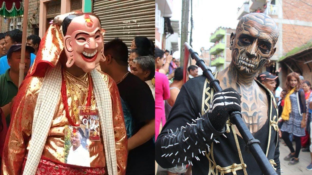 FESTIVAL HIGHLIGHTS: Highlights of Gaijatra | Cow festival | in Kathmandu – Kirtipur and Panga