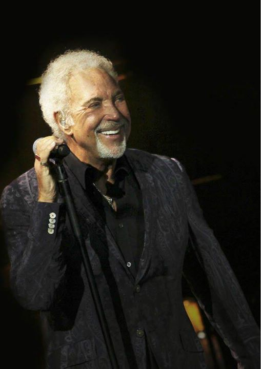 Today, this man sets off on his 2018 tour… see you in June Tom Jones!