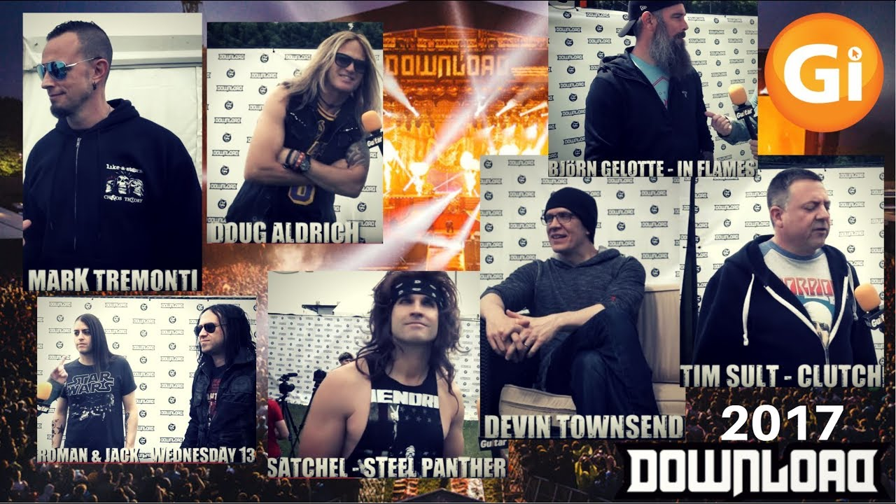 FESTIVAL HIGHLIGHTS: Gi Weekly | Download Festival 2017 Special | Devin Townsend, Mark Tremonti, Doug Aldrich, Satchel