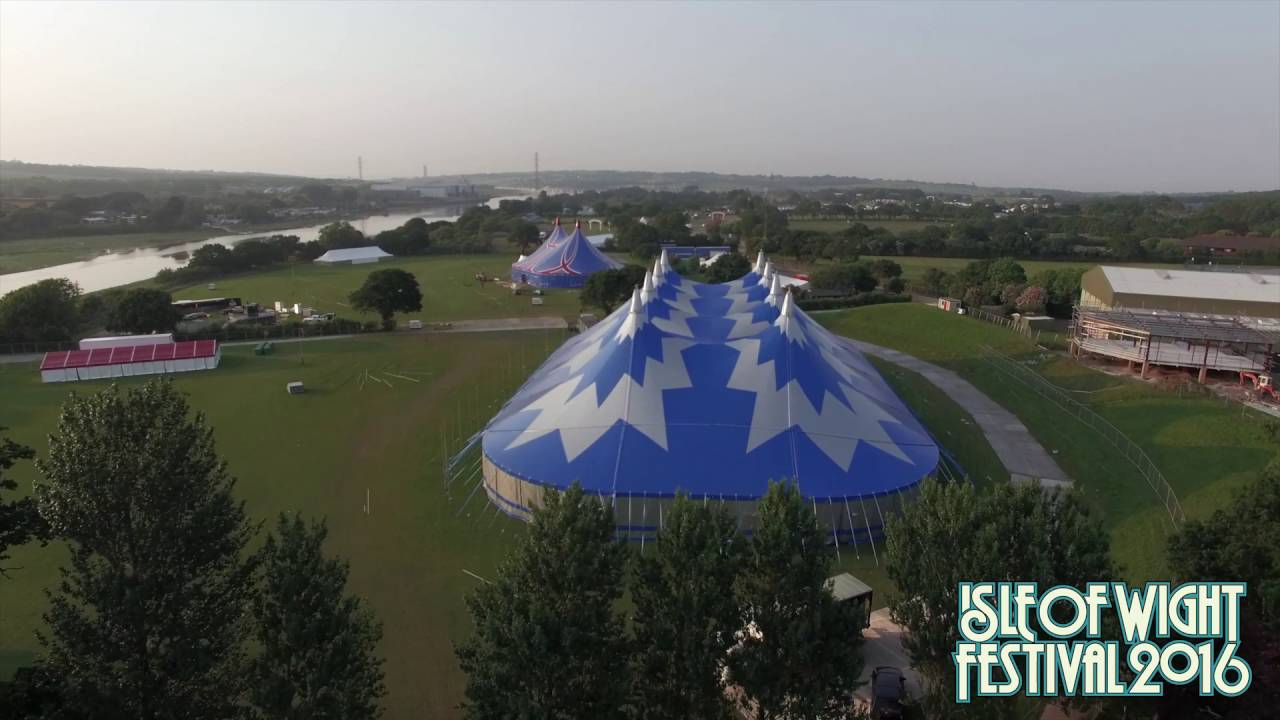FESTIVAL HIGHLIGHTS: Isle of Wight Festival 2016 Build