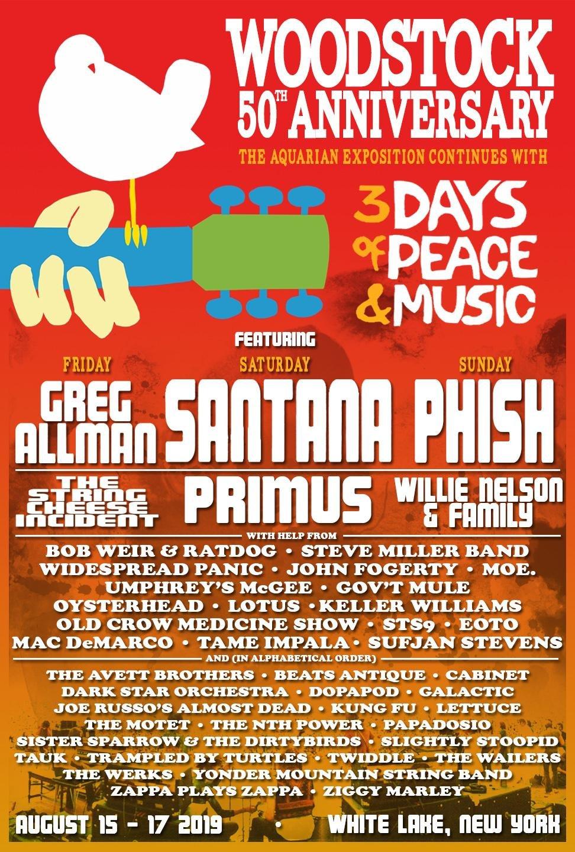 Woodstock voluit Woodstock Music amp Art Fair was een muziekfestival dat van 15 tot en met 18 augustus 1969 gehouden werd in de Amerikaanse plaats Bethel op een