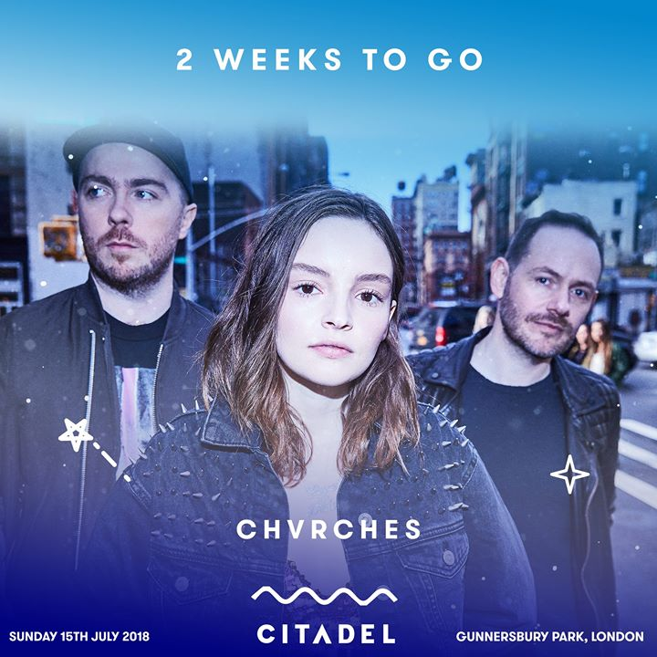 Two weeks until a summer Sunday spent with CHVRCHES, Tame Impala, Leon Bridges, ...