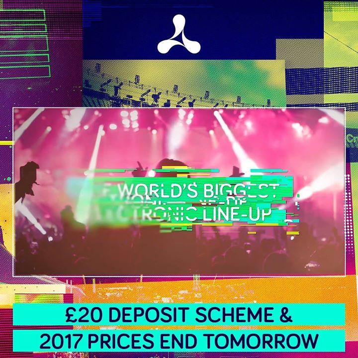 £20 Deposit Scheme & 2017 Prices End Tomorrow