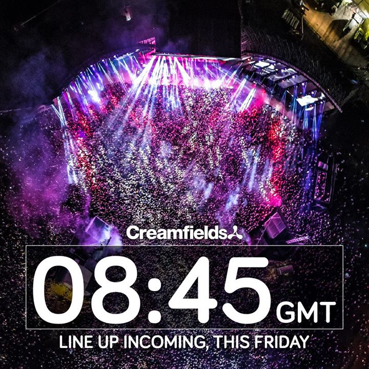 INCOMING…. The Worlds Biggest Electronic Line up coming this Friday at 8:45am gm...